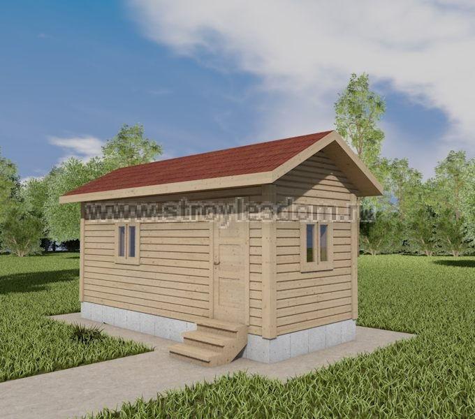 Дачный домик 2,5х6