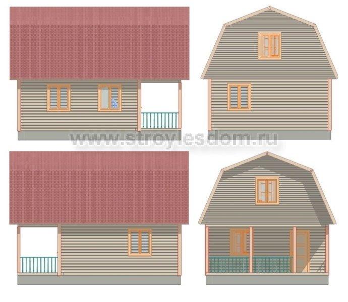 Строительство домов из бруса в Ленинградской области - Санкт Петербург